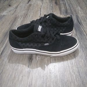 Vans Skate Shoes size 1.5 kid Checkerboard lace up